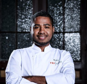 Alex Clavijo en Top Chef